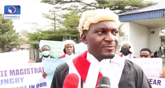 Solomon Abuo Chief Magistrate, Cross River State