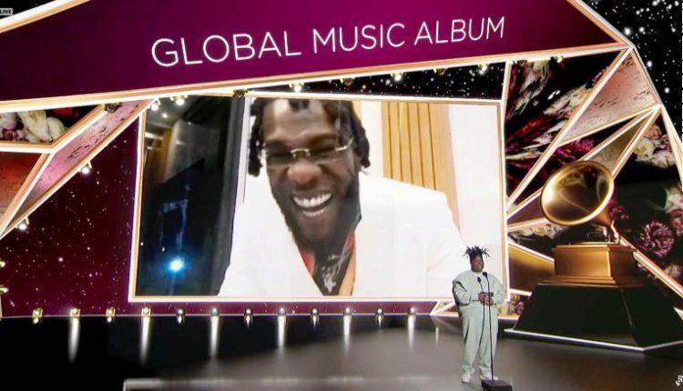 Burna Boy at the Grammys